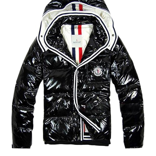 Moncler Meina Bubble Black Jacket Women