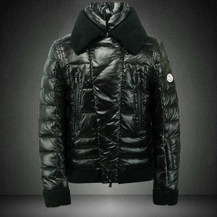 Moncler Men Down Jackets Green