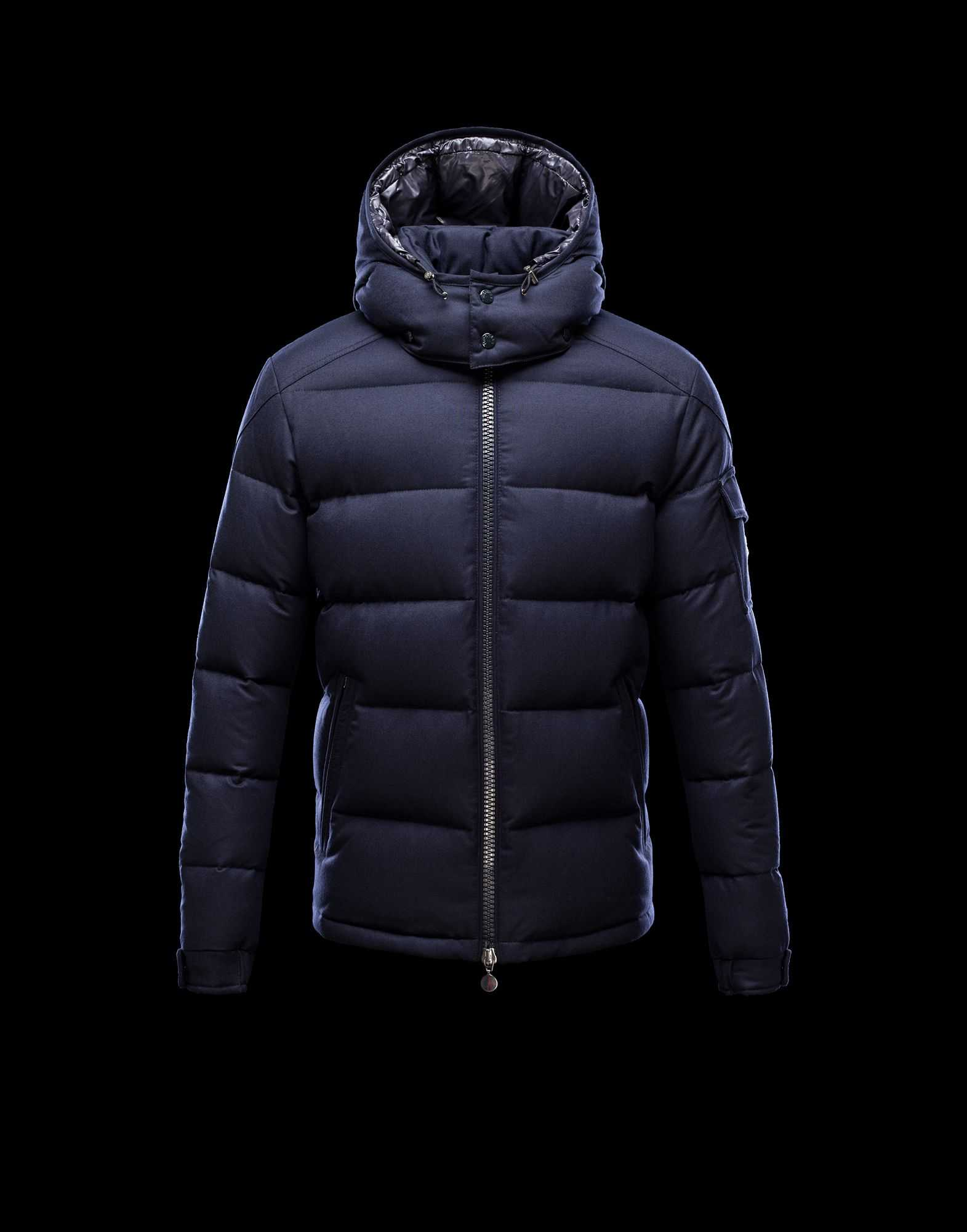 Moncler Montgenevre Winter Jackets For Mens Blue