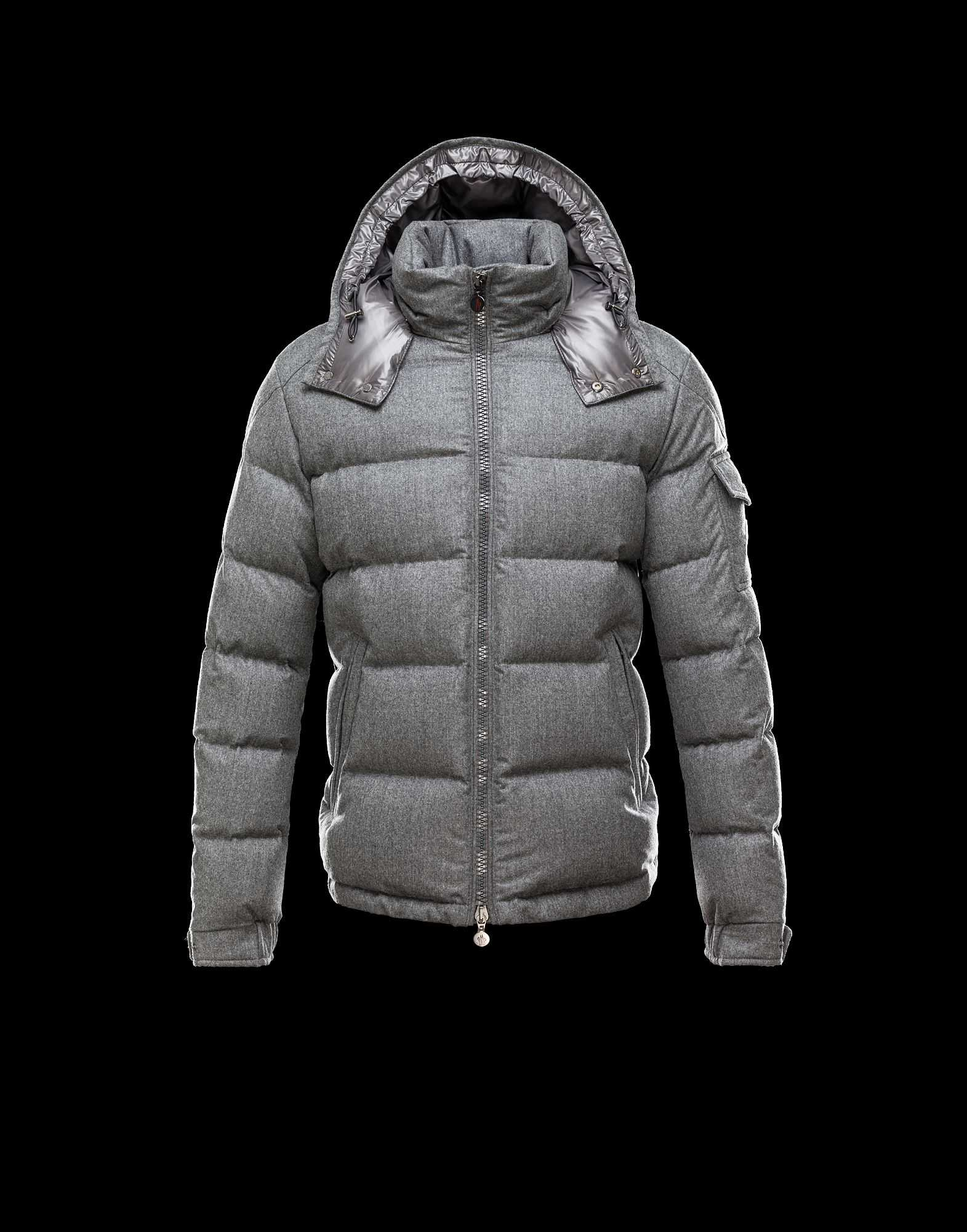 Moncler Montgenevre Winter Jackets For Mens Gray