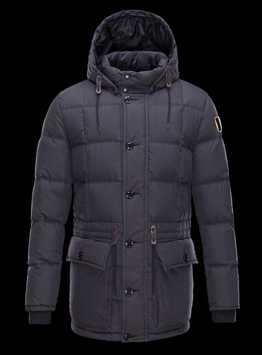 Moncler Montserrat Men Winter Coat Hood Blue