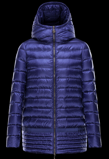 Moncler NARLAY Coat Women Winter Cap Blue