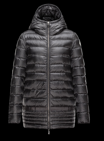 Moncler NARLAY Coat Women Winter Cap Gray