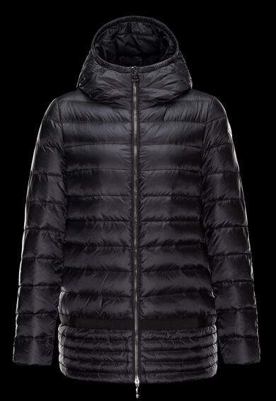 Moncler NARLAY Coat Women Winter Cap Black
