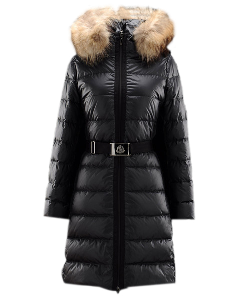 Moncler Nantesfur coats down jackets women fur hat noi