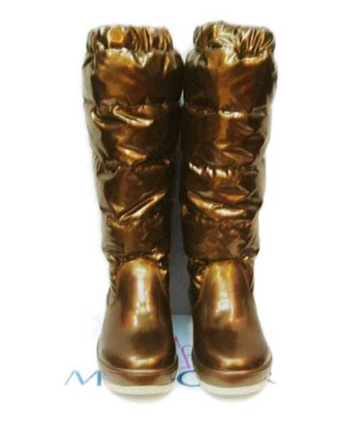 Moncler Nible Boots Women Gold Stylish And Generous