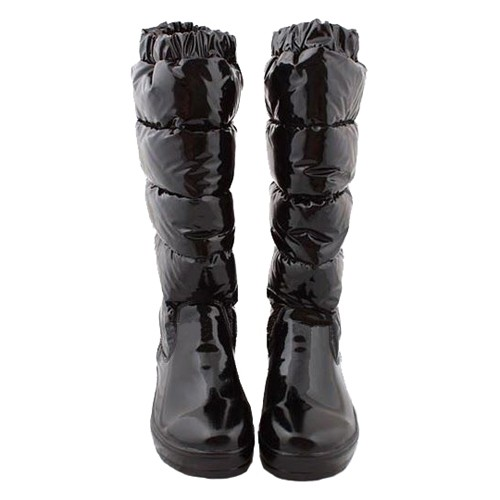 Moncler Nible Quilted Black Boots