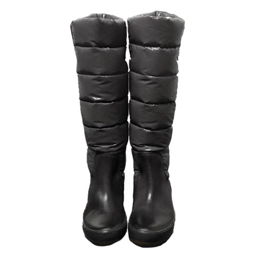 Moncler Nible Quilted Grey Boots