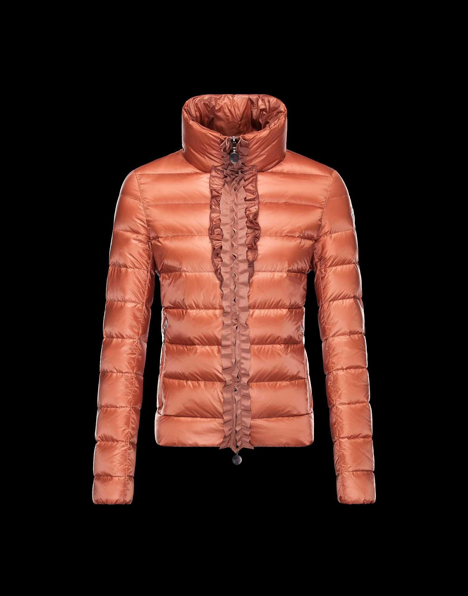 Moncler OXALIS Down Jackets Women Collar Bare