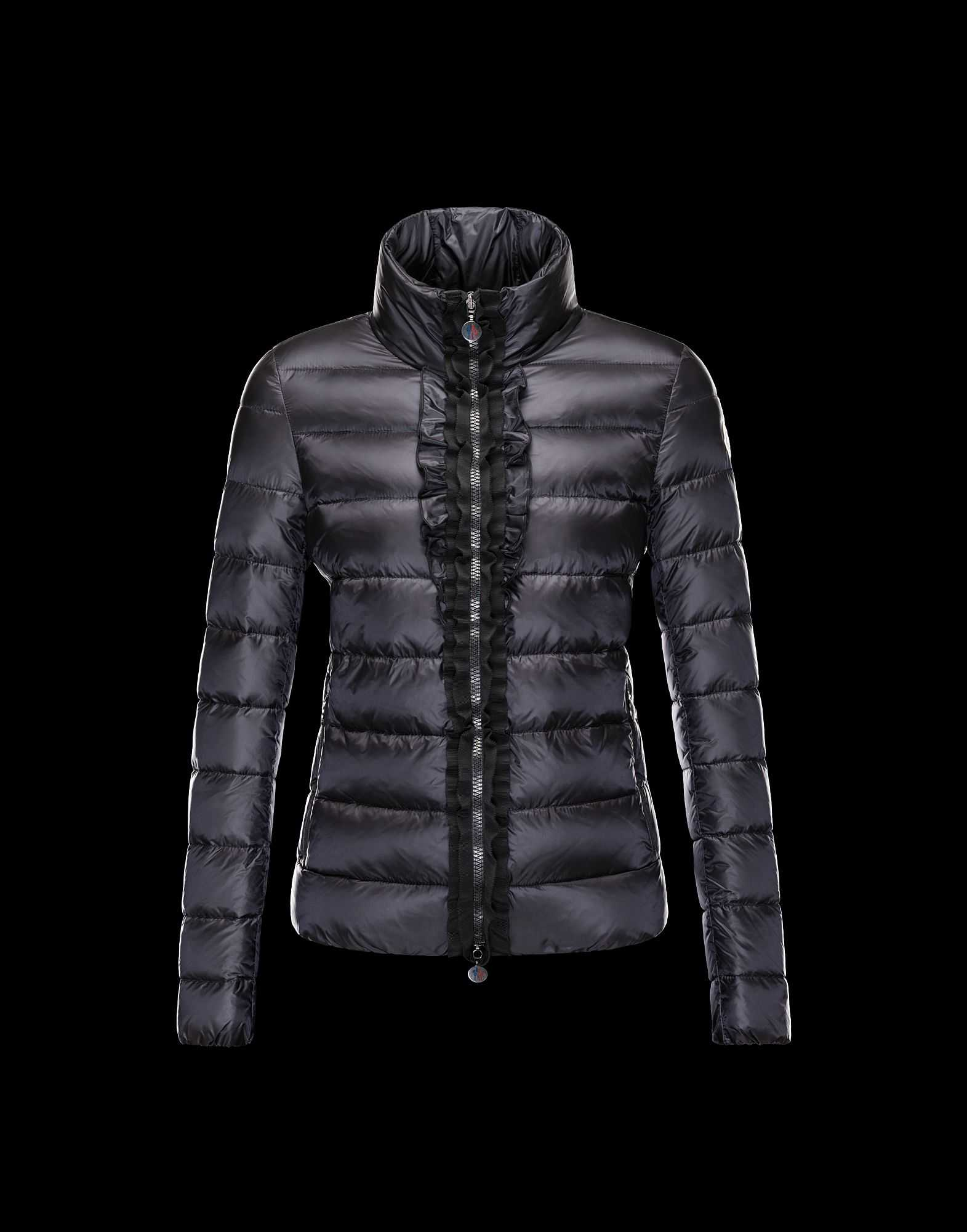 Moncler OXALIS Down Jackets Women Collar Black
