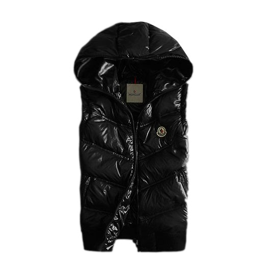 Moncler Quilted Body Warmer Black Vest Men
