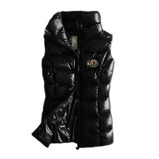 Moncler Quilted Body Warmer Black Vest Women
