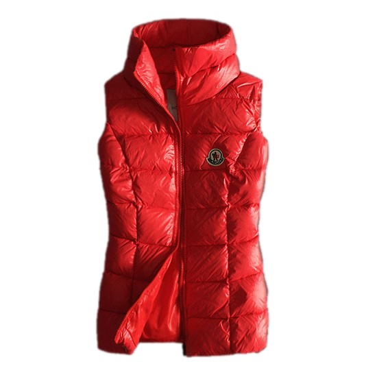 Moncler Quilted Body Warmer Red Vest Women