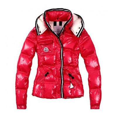 Moncler Quincy Red Jacket Women