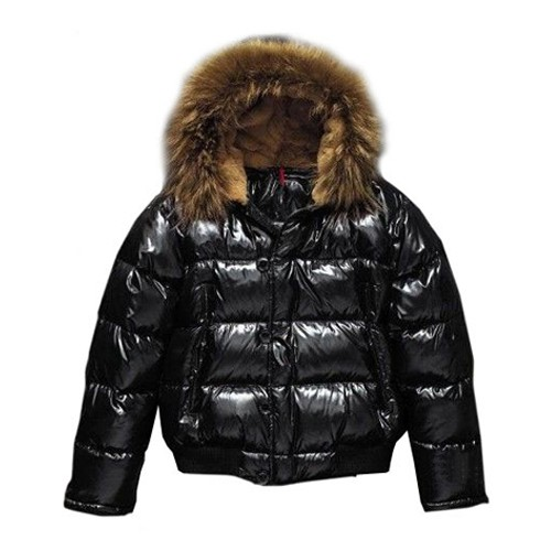 Moncler Rabbit Hats Black Jacket Men