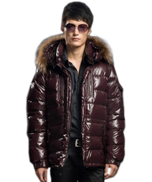 Moncler Rod Coat Down Men Coffee