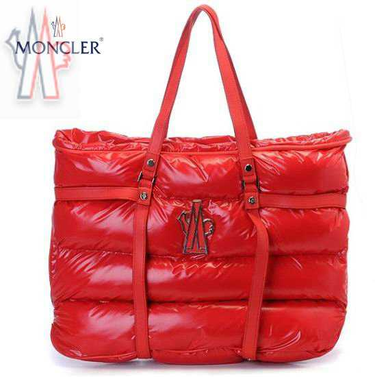 Moncler Sale Handbag In Red