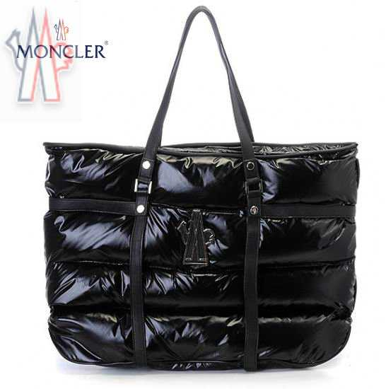Moncler Sale Handbags In Black