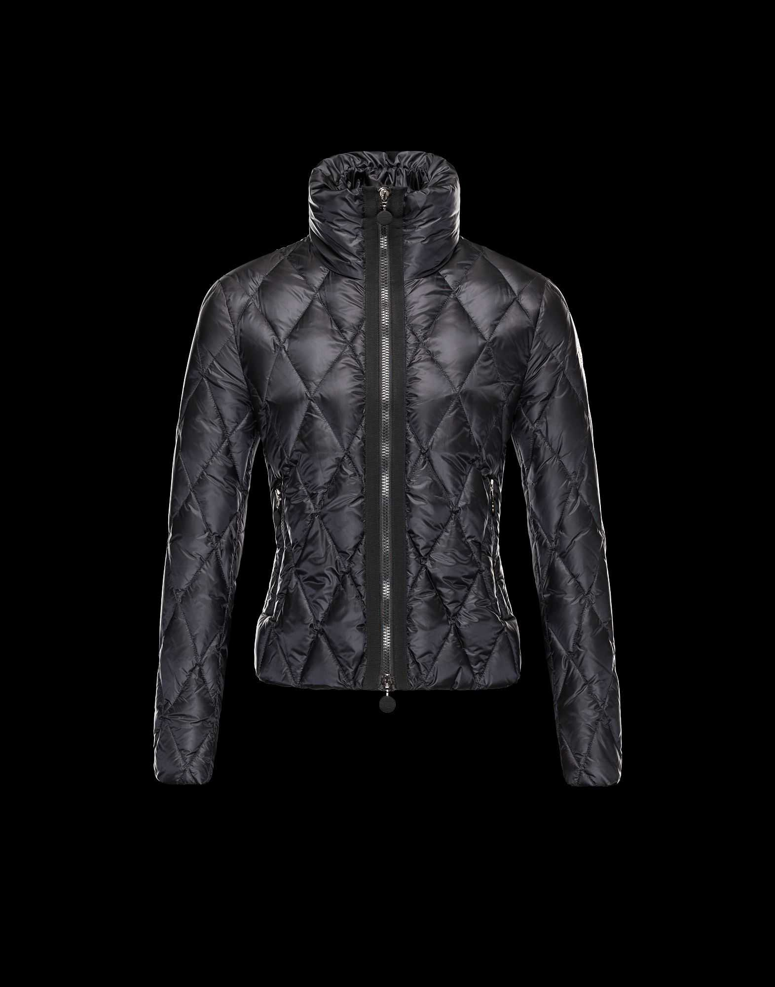 Moncler Sanglante Eider Down Jackets Women Black