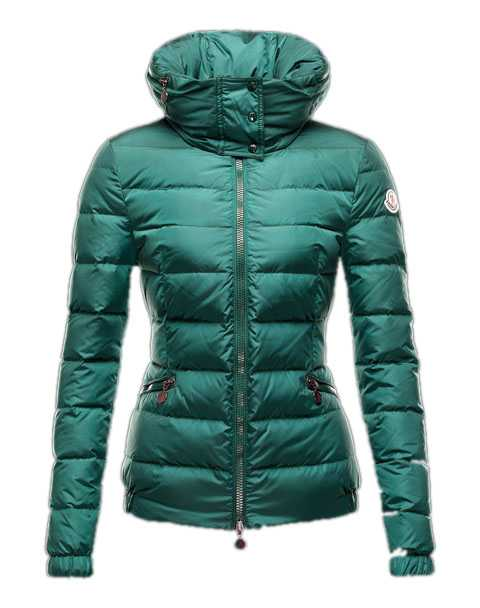 Moncler Sanglier Popular Jackets Women Zip Collar Green