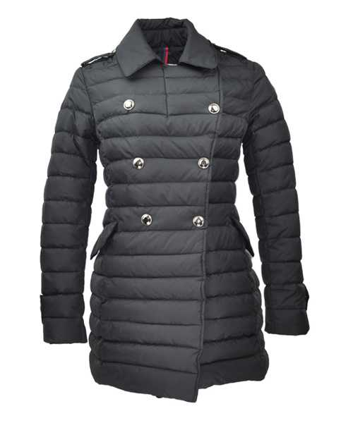 Moncler Seon Euramerican Style Coat For Women Black