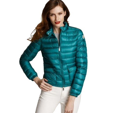 Moncler Short Leisure Dark Green Jacket Women
