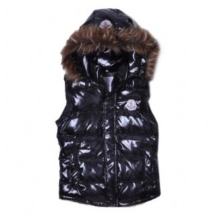 Moncler Smart Casual Black Vest Women