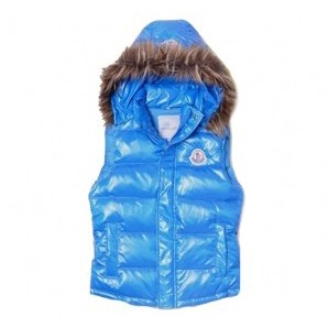 Moncler Smart Casual Blue Vest Women