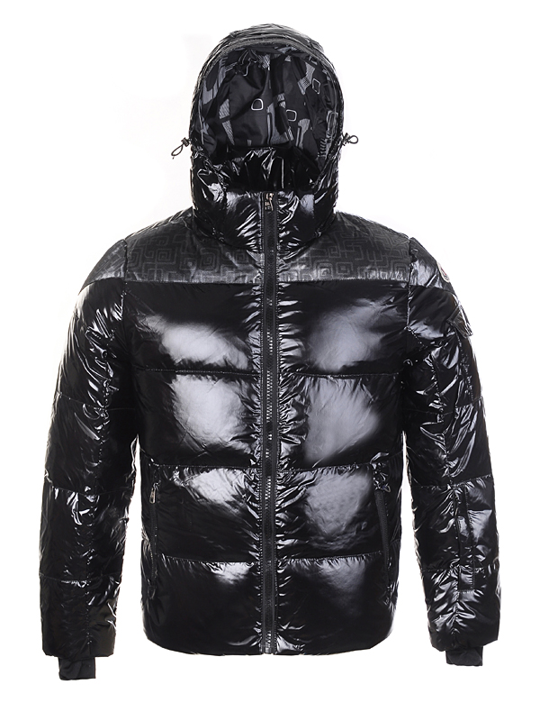 Moncler Men Down Jackets Stuffing Wool Hat Black