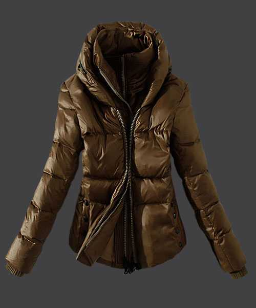 Moncler Women Down Jackets Zip Green Card