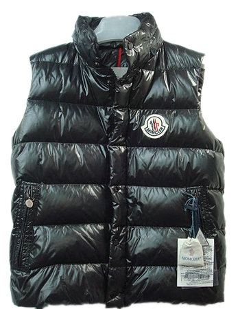 Moncler Unisex Down Vests Quilted Warmer Body Navy Black