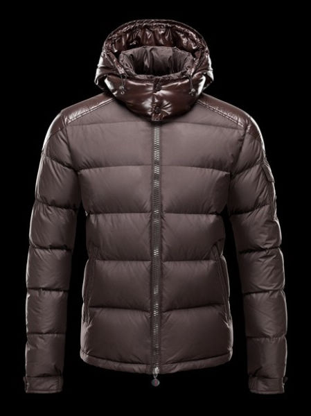 Moncler Jacket Winter Knight Doudoune Men Coffee