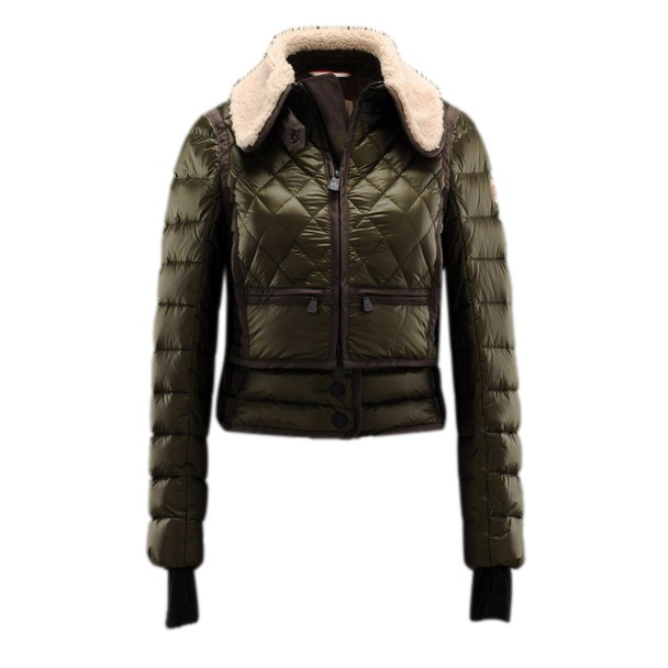 Moncler Warm Olive Jacket Women
