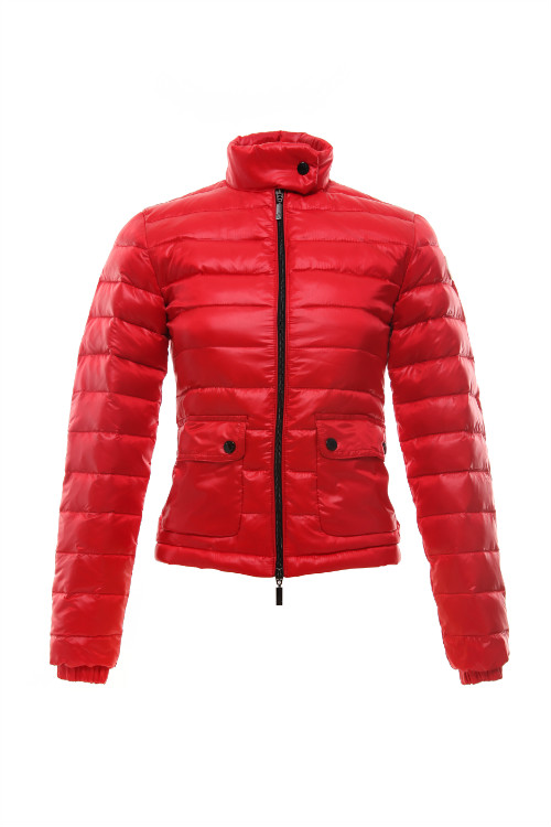 Moncler Women Down Jackets Red