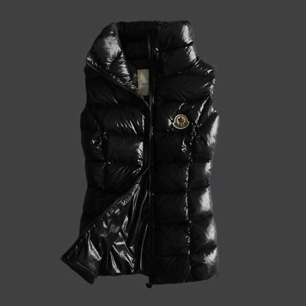 Moncler Women Vest Sleeveless Black