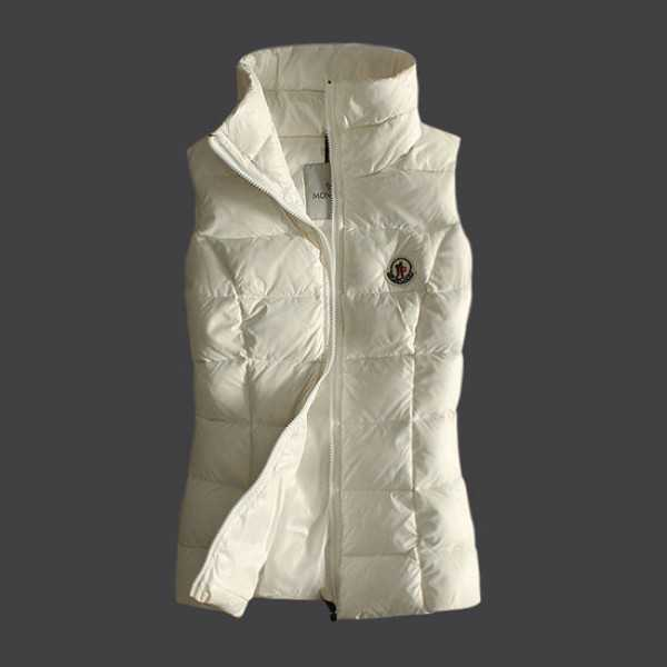 Moncler Women Vest Sleeveless White