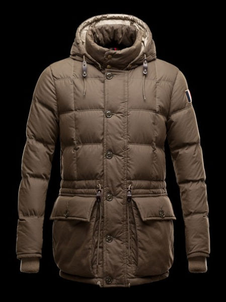 Moncler Down Jackets Men Montserrat Khaki