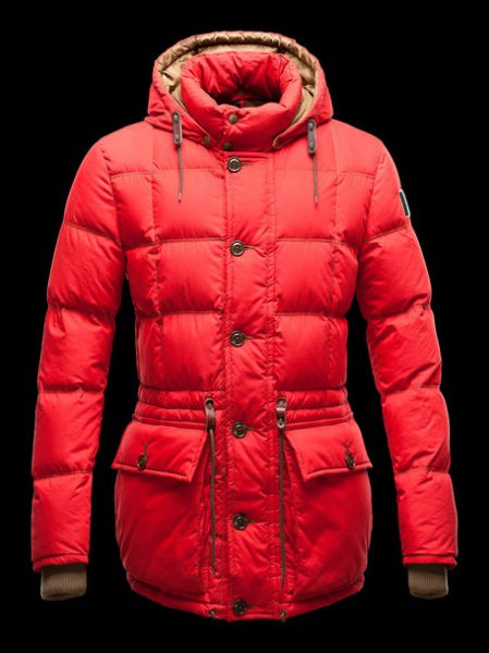 Moncler Down Jackets Men Montserrat Red