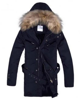 Moncler Men's Winter Coat Coat Blue