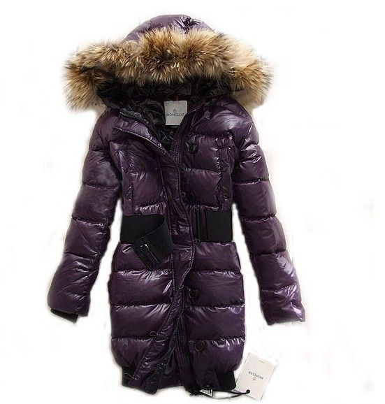 Moncler lucie new pop star women dark purple coats