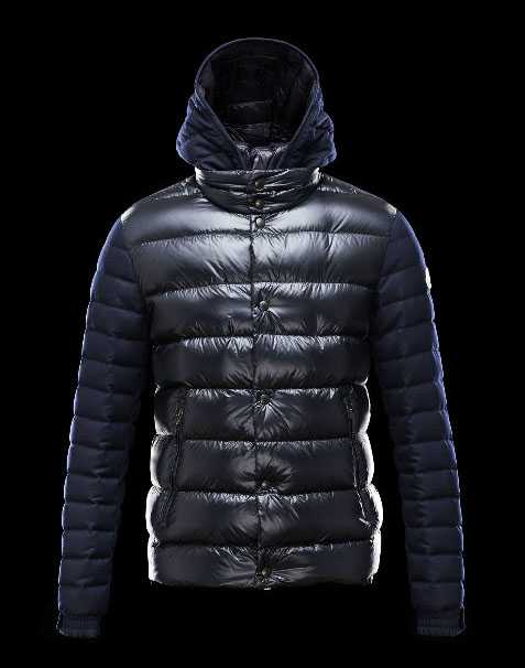 New Moncler Ghislain Men Down Jackets Black Blue Sale