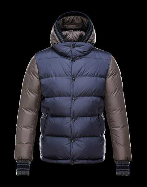 New Moncler Ghislain Men Down Jackets Blue Coffee Sale