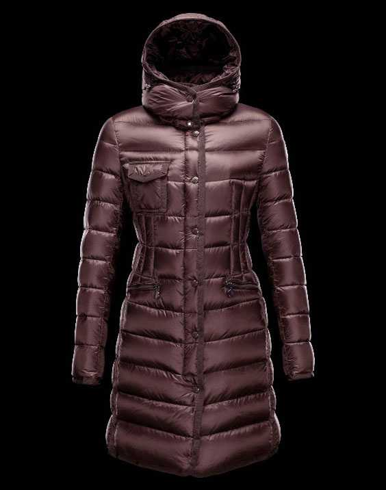 New Moncler Long Coats For Women Coffee