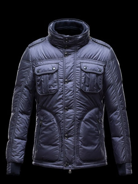Moncler Men's Down Jackets Blue