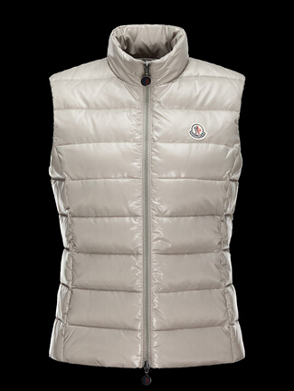 Moncler Ghany Women Sleeveless Jacket Beige