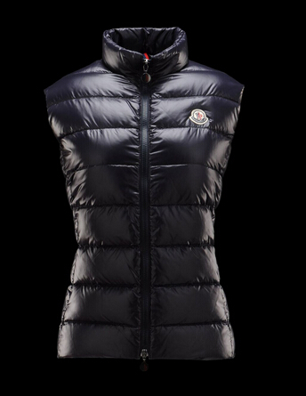 Moncler Ghany Women Blue Sleeveless Jacket