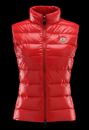 Moncler Ghany Women's Pink Sleeveless Jacket