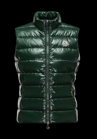 Moncler Ghany Women Green Sleeveless Jacket