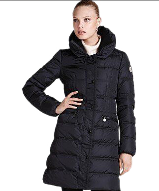 Moncler long coat women's coat price