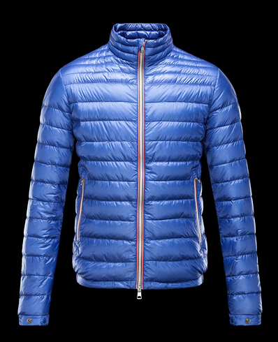 Moncler Jackets Men Jacket Blue Vet Store